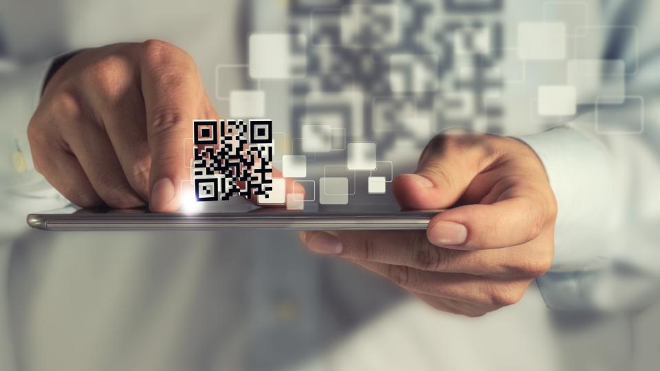 Mobiele app QR code HybrIT